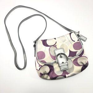 COACH Soho Scarf Print Small Buckle Crossbody Bag